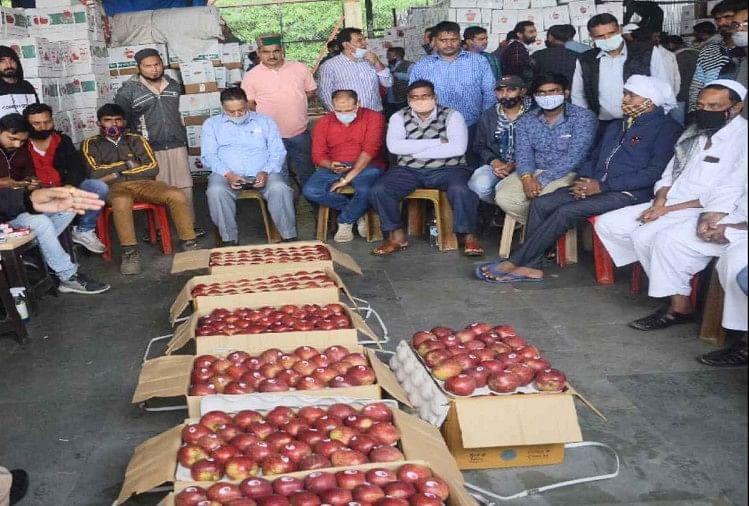 हिमाचल में अरबों के सेब कारोबार पर संकट