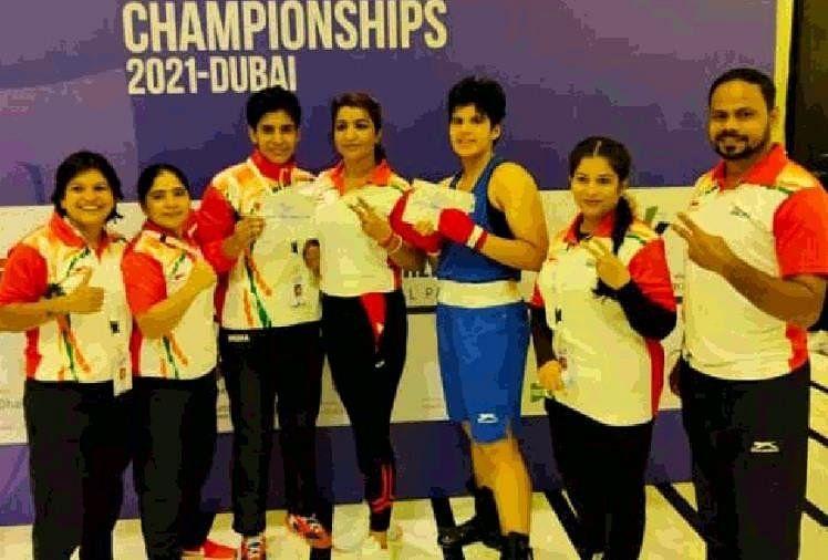 कैथल की तीन बेटियों ने दुबई में फहराया परचम, मुक्केबाजी में स्वर्ण, रजत और कांस्य पदक जीता