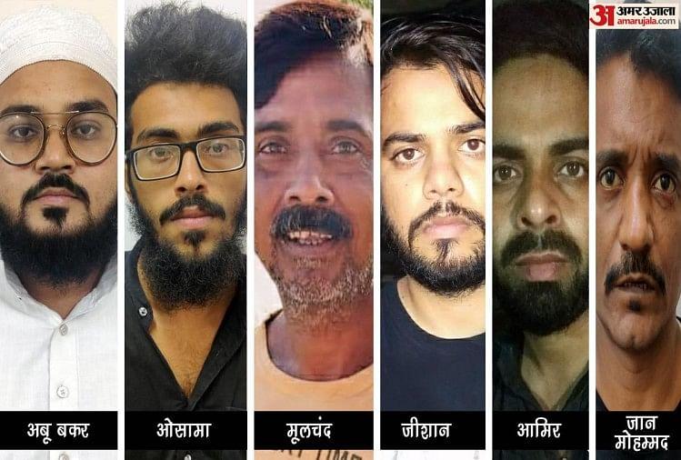 Six terrorists arrested