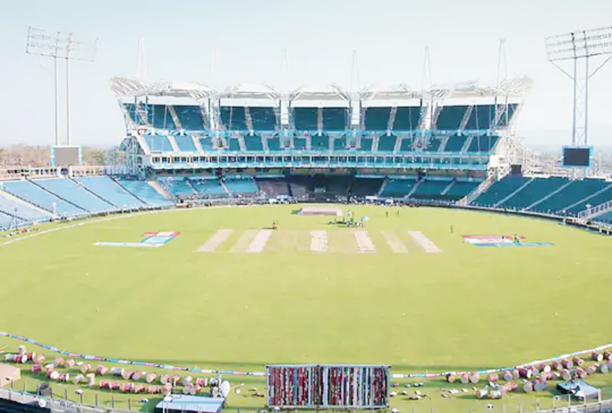 पुणे का MCA क्रिकेट स्टेडियम।