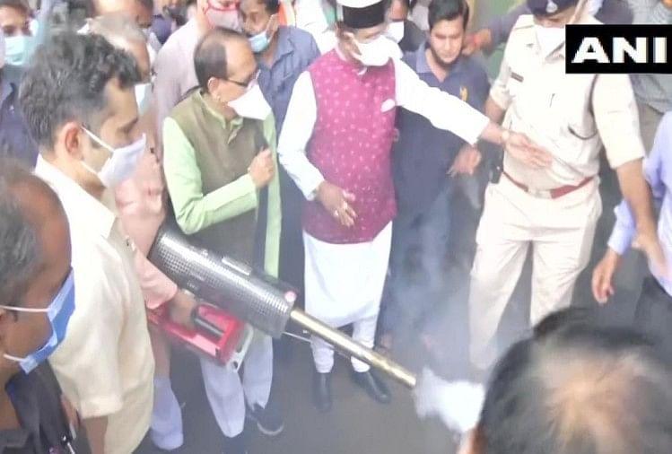 मध्य प्रदेश: सीएम शिवराज सिंह चौहान ने छेड़ा अभियान, बोले- डेंगू से जंग, जनता के संग