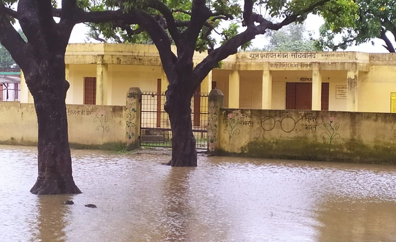 Disaster rain: Dozens of houses landed, three including woman died
