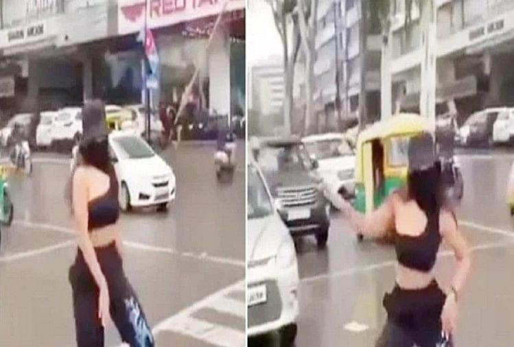 इंदौर: मॉडल ने ट्रैफिक चौराहे पर डांस के लिए डीएसपी से मांगी माफी, कहा- अब ऐसी हरकत कभी नहीं करूंगी