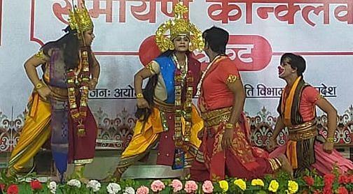 Presentations of Ramayana era captivated everyone