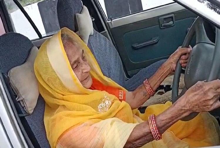 मिसाल: 90 साल की महिला ने हाइवे पर दौड़ाई कार, सीएम शिवराज सिंह बोले- दादी मां हम सभी को दे रहीं प्रेरणा
