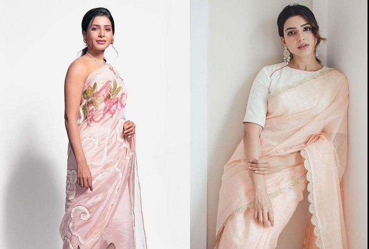 Samantha Akkineni: देखें नागार्जुन की बहू समांथा अक्किनेनी का देसी लुक