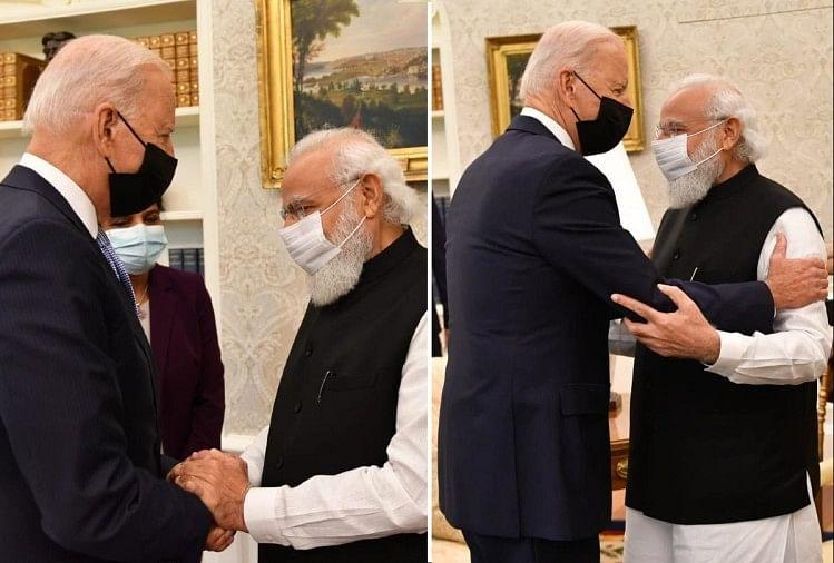 Narendra Modi Meets Us President Joe Biden In White House For Bilateral  Meeting News And Updates - Biden-modi Meeting: बाइडन से बोले पीएम मोदी-  व्यापार में भारत और अमेरिका एक-दूसरे के पूरक,
