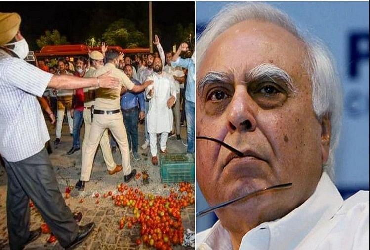 सिब्बल के घर पर हमले से स्तब्ध हूं, दोषियों के खिलाफ कार्रवाई करें सोनिया गांधी : आनंद शर्मा