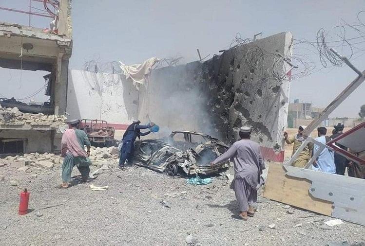 अफगानिस्तान के कुंदुज शहर में स्थित शिया मस्जिद में हुआ धमाका।