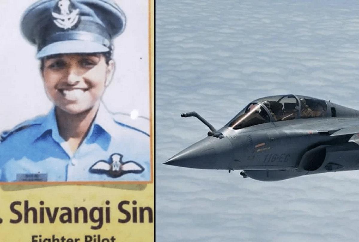 शिवांगी उड़ाती है वायु सेना का विमान