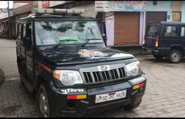 सौंख l मथुरा जिले को रेड जोन  होने से पुलिस ने आने-जाने व लोगों पर रखी निगरानीl और लोगों का किया सामान चैक l