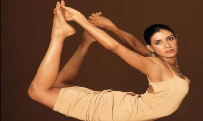 Deepika mehta the yoga trainer.