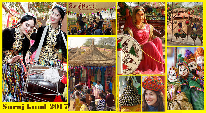 Amazing Surajkund International Crafts Mela 2017