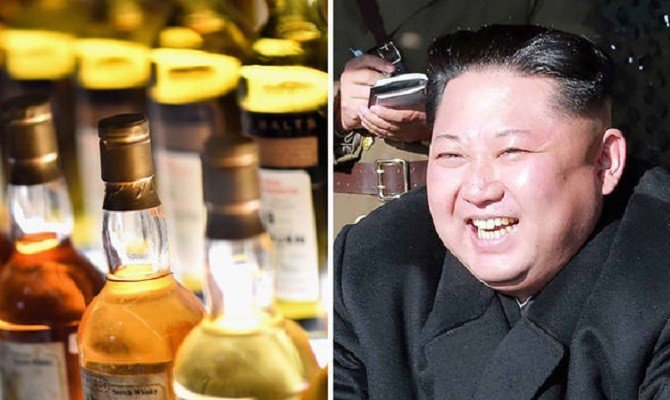 Kim Jong-un's unbelievable luxury life, Drinks alcohol worth rupees 30 million