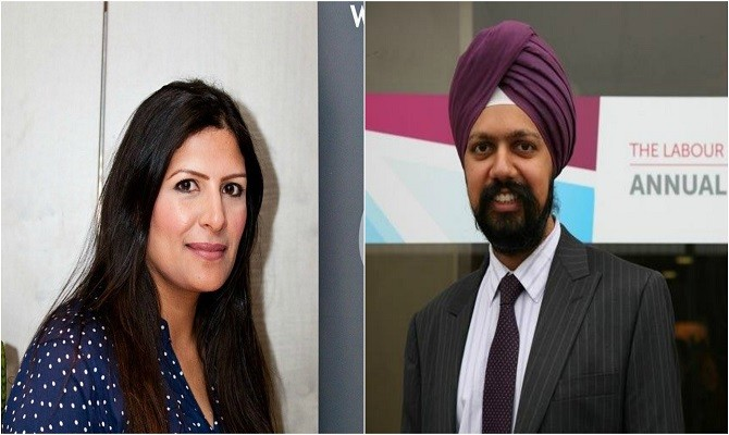 Preet Kaur Gill and Tanmanjeet Singh Dhesi Indian Origin Sikh politicians who won UK Elections
