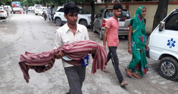 Satire: 30 children die in 48 hours in BRD Medical College Gorakhpur