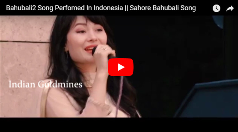 Bahubali 2 Song Performed In Indonesia Goes Viral - भली