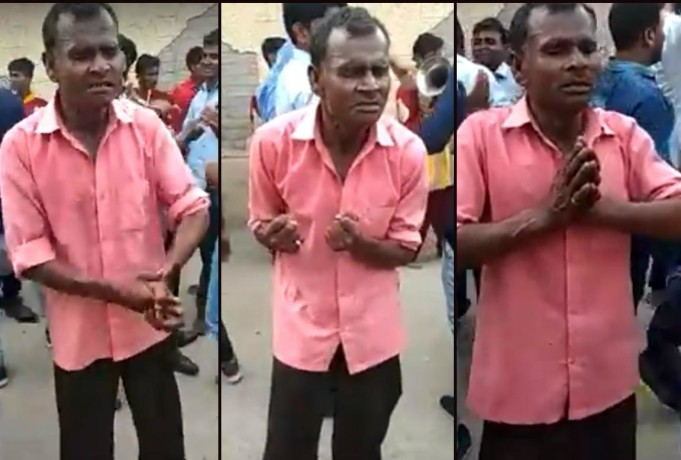 Hilarious dance in an event goes viral on social media