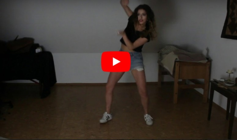 Spanish Girl Dance on Bollywood Song Bom Diggy Diggy in Dytto Style, Video goes Viral