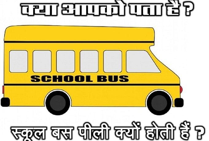 इंडिया ही नहीं पूरी दुनिया के स्कूलों की बसें होती हैं पीली, लेकिन क्यो, कभी सोचा? - शब्द (shabd.in)