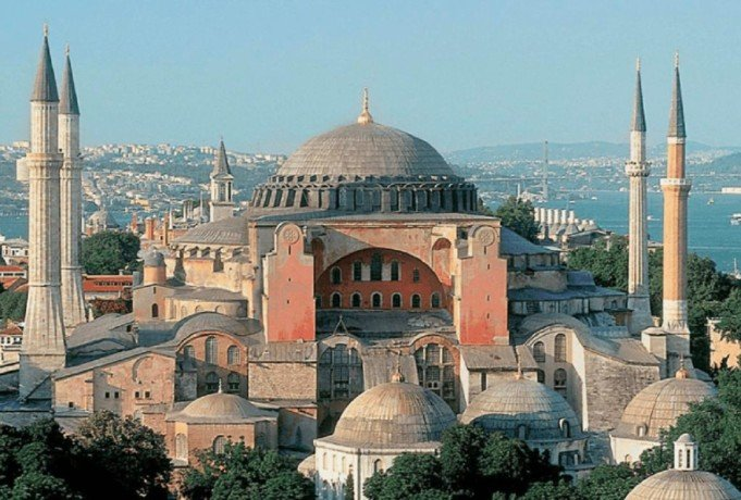 know about Hagia Sophia Christian patriarchal cathedral later an mosque