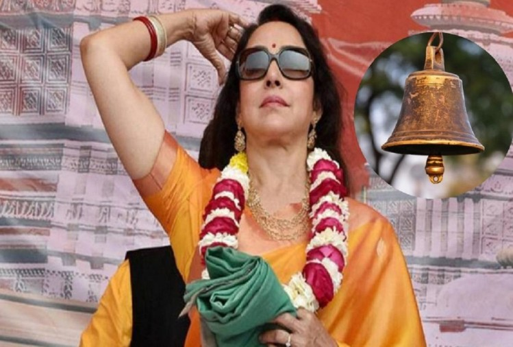 Loksabha elections 2019 hema malini campaigns in mathura with actor dharmendra