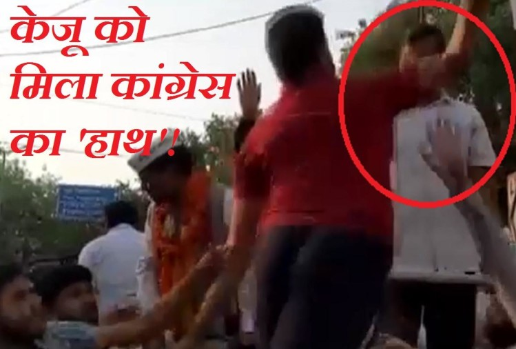 SHOCKING news Delhi CM Arvind Kejriwal  slapped again during roadshow poll campaigning
