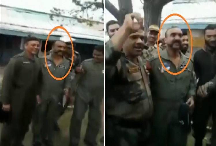 Indian Air Force wing commander abhinandan new video viral on social media