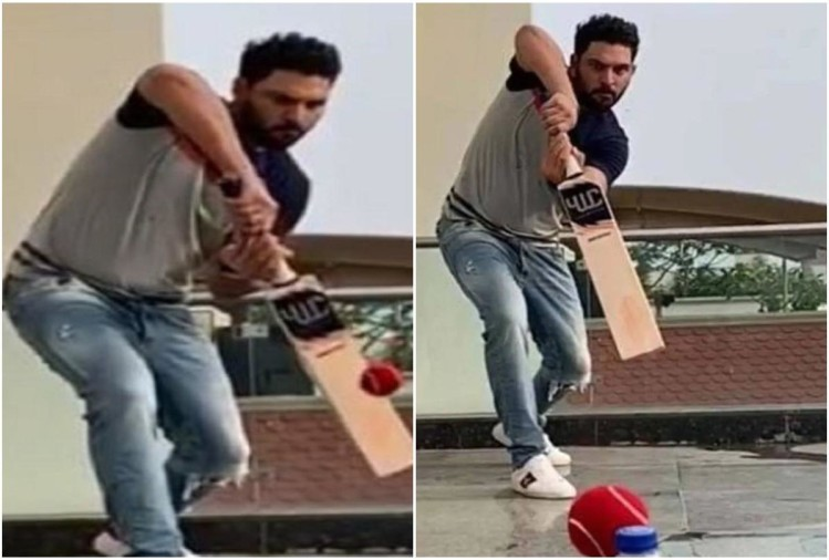 yuvraj singh bottle cap challenge video viral