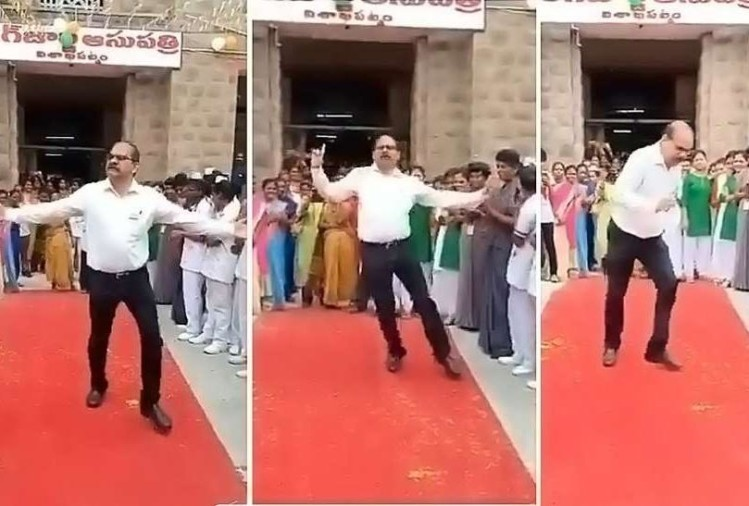 viral video of dancing doctor on actor akkineni nageshwara raos