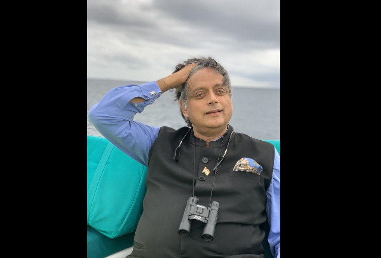 Shashi Tharoor shares Kerfuffle word on twitter