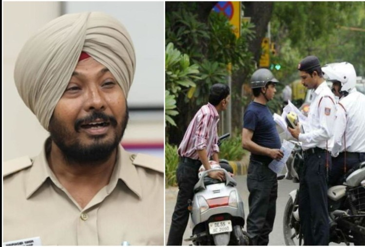 viral video of Chandigarh police sing song to aware To make people aware
