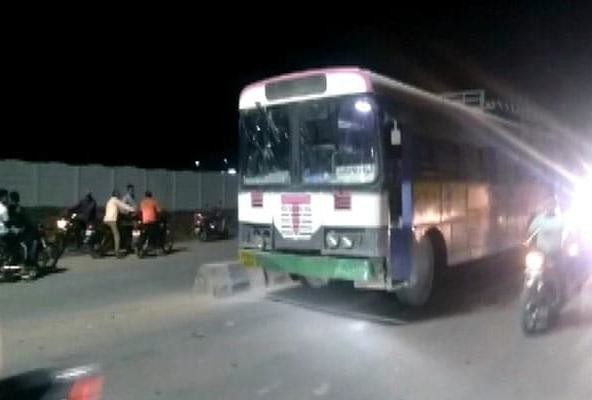Man fail to find any conveyance thats why he stole state transport bus