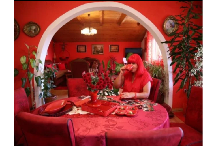 know the story of bosnia zorica rebernik who loves loves red colour a lot