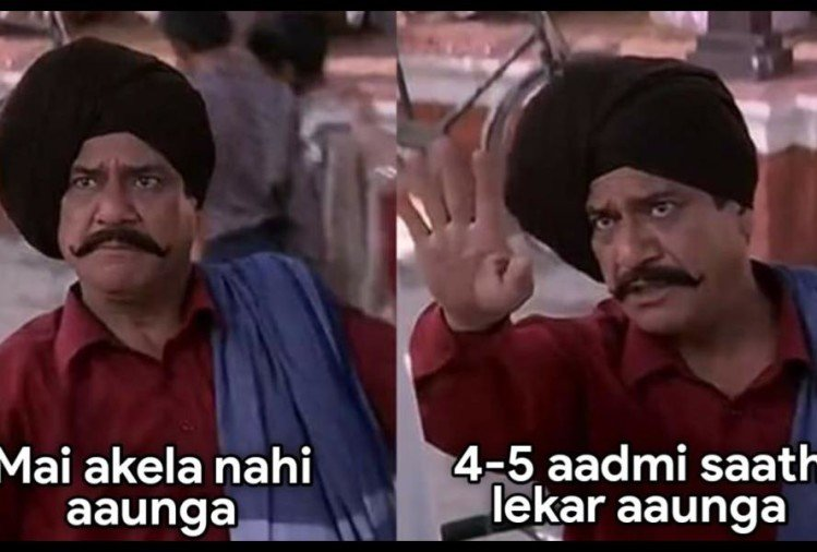 social media user make om puri hera pheri memes to understand how 2020 is going