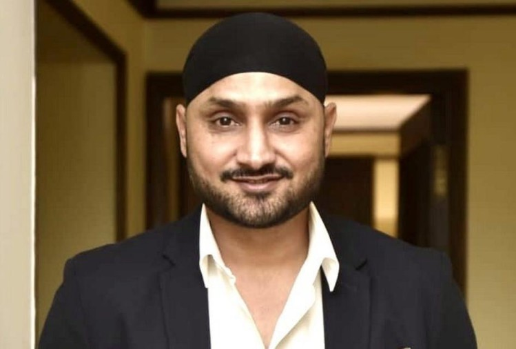 harbhajan shared modern thali picture on twitter
