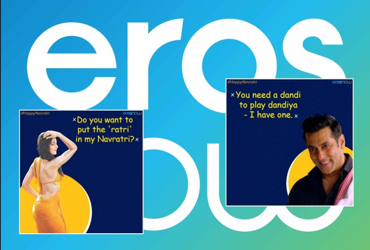 Eros shared double meaning poster and get trolled