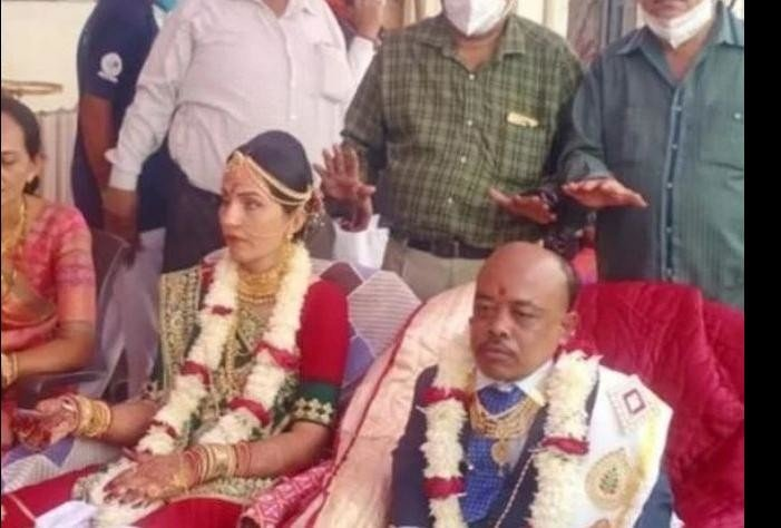 know the story of junagarh unique wedding where 3 Feet groom marry 5.5 bride