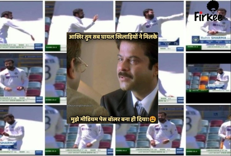 social media reaction on rohit sharma bowls after navdeep saini users express their expression through memes