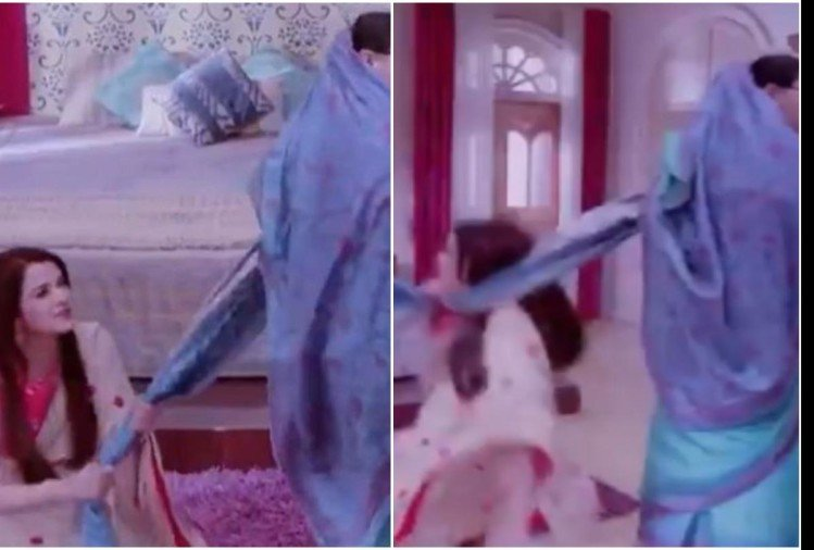 Viral video of Bizarre shawl 'choking' scene from Sasural Simar Ka People Says Yeh kya dekh liya