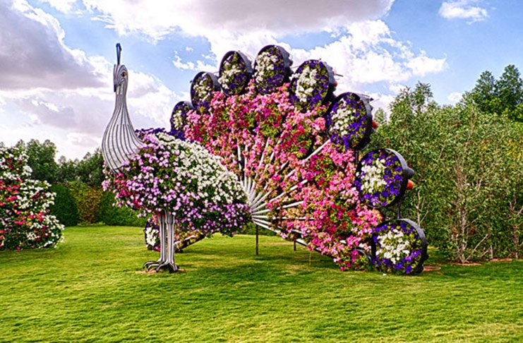 the most beautiful flower garden in the world