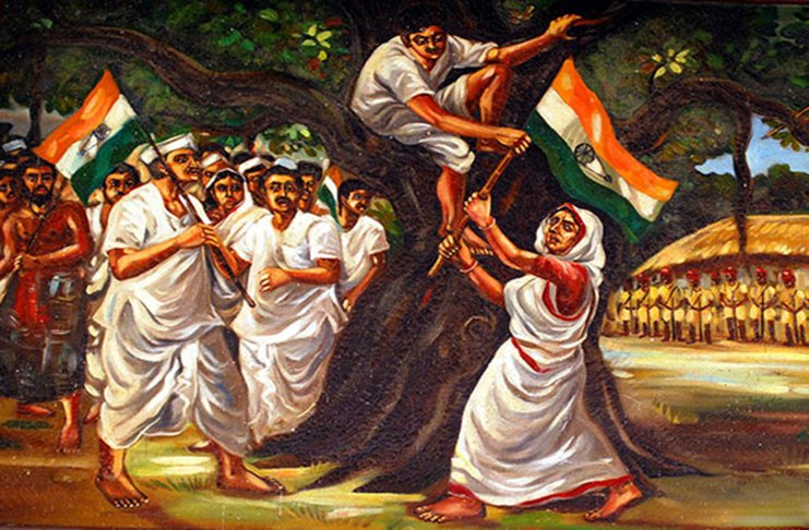 the role women freedom in india