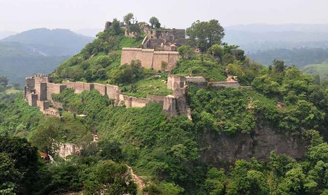 Kangra-Fort-From-the-East