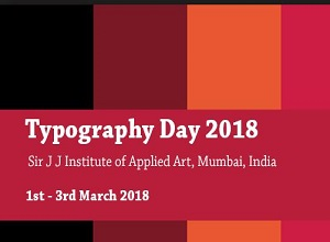 Typography Day 2018 Poster Design Competition By Sir J J Institute Of Applied Art Results Amarujala Com