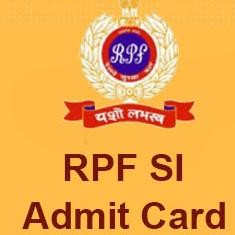 RPF SI Admit Card: Call Letter for Group A, B, C, D is Now Available
