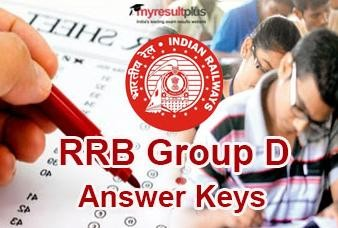 RRB Group D Answer Keys 2018 Released, Check Now