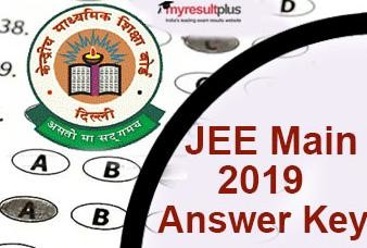 JEE Main Answer Key 2019: Last Day to Raise Objections