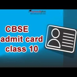 CBSE Class 10 Admit Card 2019 has been Released, Here are the Details