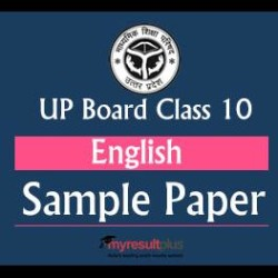 UP Board 2019 Class 10: English Sample Paper