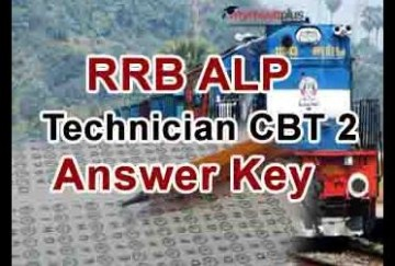 RRB ALP CBT 2 Answer Key Released, Know How to Check